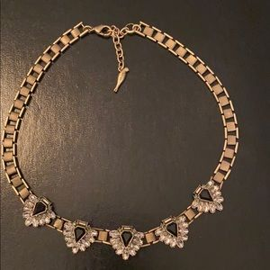 Chloe & Isabel Black and Gold necklace